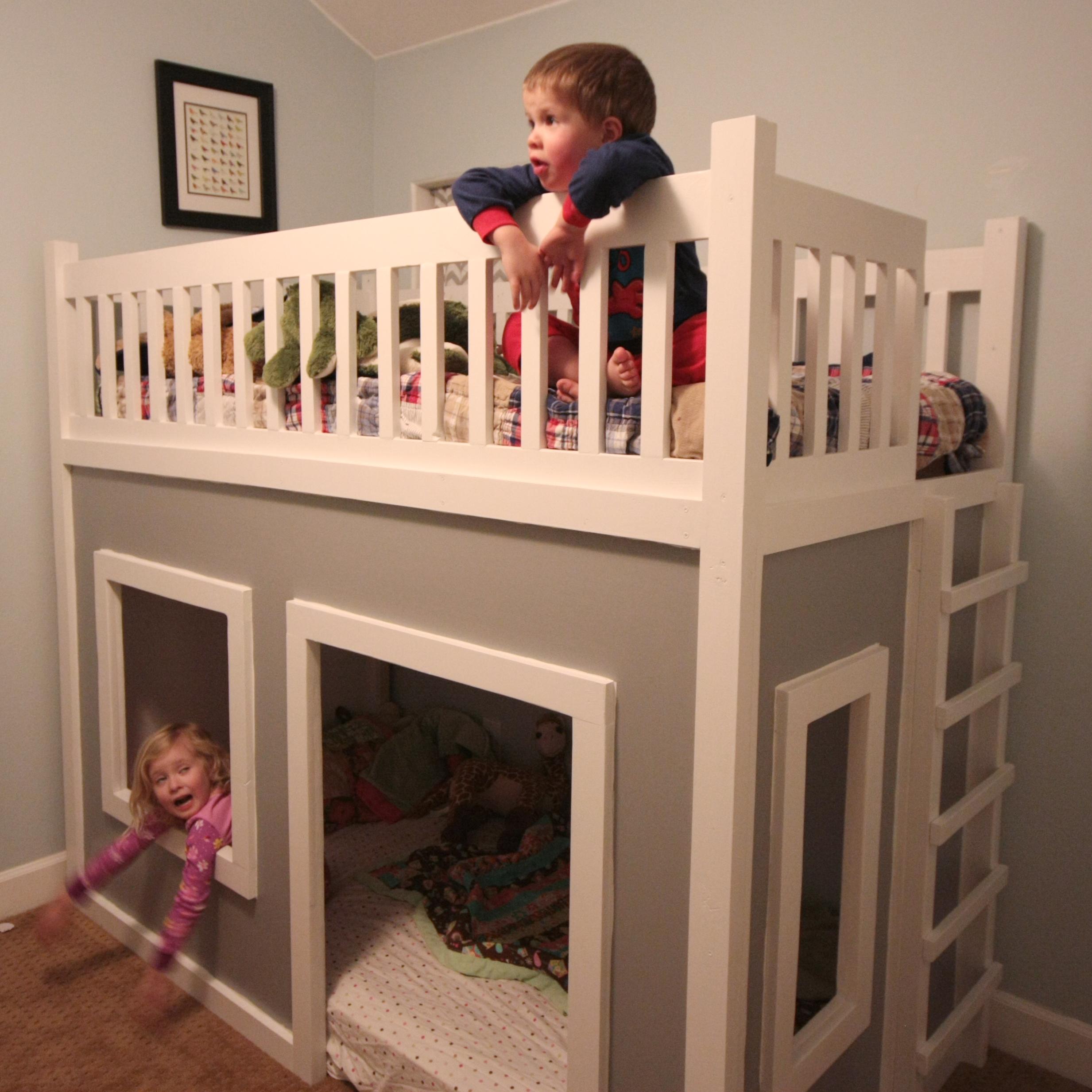 diy playhouse loft